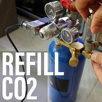 How to Refill a CO2 Tank with an Air Compressor