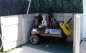 How to Soundproof an Air Compressor Featured