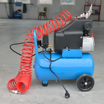 Steps for Draining the Air Compressor
